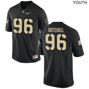 Limited Army Black Knights Billy Mitchell Kids Jersey S-XL - Black
