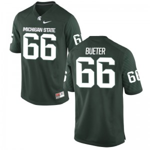 For Men Limited Michigan State Spartans Jerseys XXX Large of Blake Bueter - Green