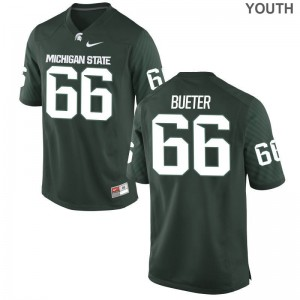 Blake Bueter MSU Jersey Large Kids Green Limited