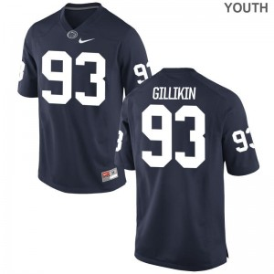 Blake Gillikin For Kids Navy Jerseys XL Penn State Limited