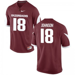 Men Large Arkansas Blake Johnson Jerseys Football Mens Limited Cardinal Jerseys