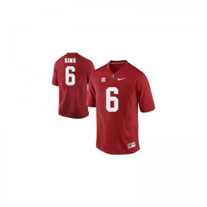 Bama Official Blake Sims Limited Jerseys Red For Men