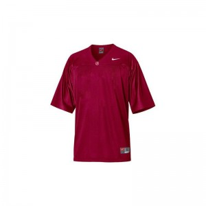 Bama Red For Men Limited Blank Jerseys Medium