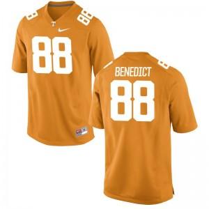 Tennessee Vols Limited Brandon Benedict For Men Jersey Mens Medium - Orange