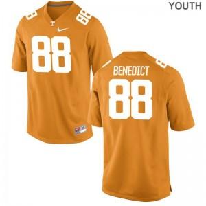 Brandon Benedict Kids Jerseys Small UT Limited - Orange
