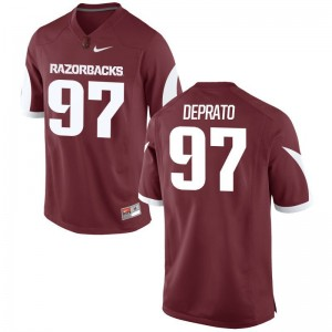 Razorbacks Brandon DePrato Jersey Men XL Limited Mens Cardinal