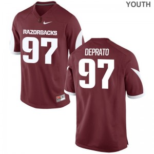University of Arkansas Brandon DePrato Limited Kids Alumni Jerseys - Cardinal