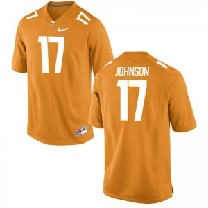 Men Brandon Johnson Jerseys Football Orange Limited UT Jerseys