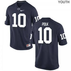 Limited Brandon Polk Jersey Large PSU Kids Navy