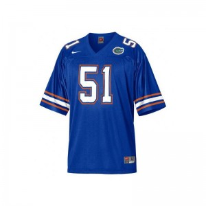 For Kids Limited NCAA Florida Jerseys Brandon Spikes Blue Jerseys