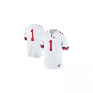 OSU Braxton Miller Jerseys Small For Men Limited - White