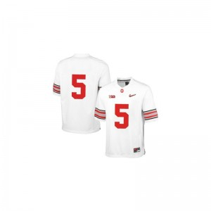OSU Buckeyes Braxton Miller Limited Kids Jersey - White Diamond Quest Patch