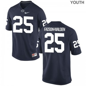 Limited Brelin Faison-Walden Jersey S-XL Penn State Navy Youth