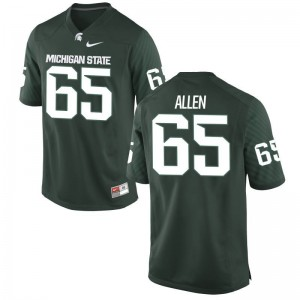 Brian Allen MSU Jersey 2XL Green Limited Men