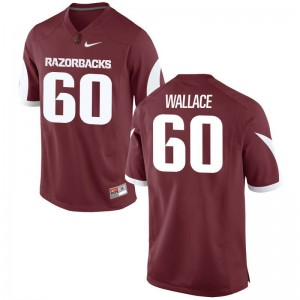 Brian Wallace Arkansas Jerseys Mens Medium Cardinal Limited For Men