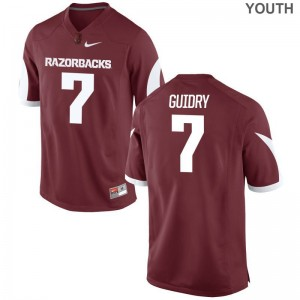 Briston Guidry Jersey University of Arkansas Cardinal Limited For Kids NCAA Jersey