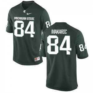 Brock Makaric Mens Jersey Men Small Spartans Green Limited