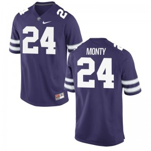 KSU Brock Monty For Men Limited Purple College Jersey