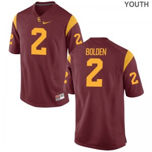USC Bubba Bolden Jerseys S-XL Youth Limited White