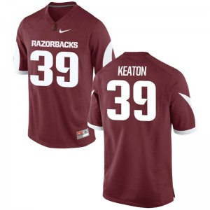 Arkansas Razorbacks Byron Keaton Jerseys Men XL Cardinal Limited Mens