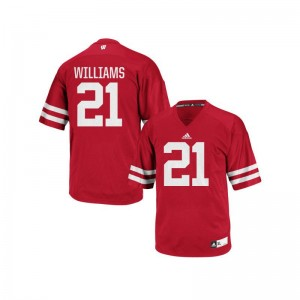 Caesar Williams Jersey Mens XL UW Replica Men - Red