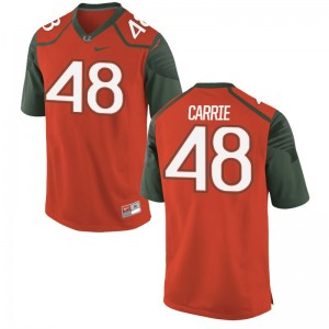Calvin Carrie For Men Jersey X Large Miami Orange Limited