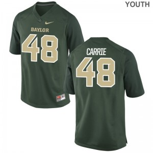 Calvin Carrie Jerseys Youth Large Hurricanes Kids Limited - Green
