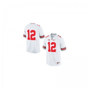 Cardale Jones Mens Jersey XXX Large Ohio State Buckeyes Limited - White