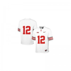 Limited For Kids Ohio State Jersey Youth X Large of Cardale Jones - White Diamond Quest Patch