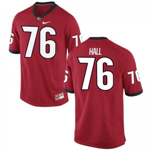 Carson Hall Jerseys S-3XL Mens UGA Bulldogs Limited Red