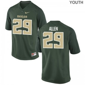 Miami Hurricanes Green Limited Kids Chad Allen Jersey Youth Large
