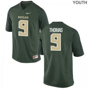 Chad Thomas Limited Jerseys Kids Miami Hurricanes Green Jerseys