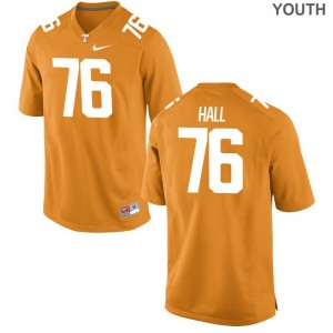 Tennessee Vols Limited Kids Chance Hall Jerseys Youth XL - Orange