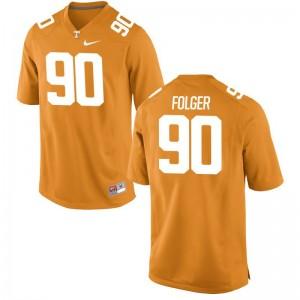 Orange Charles Folger Jerseys Tennessee Volunteers Limited Men
