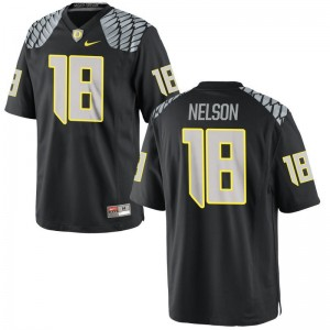 Charles Nelson Ducks Jersey For Men Limited - Black