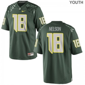 Charles Nelson Jerseys Large Oregon Ducks Limited Youth - Green
