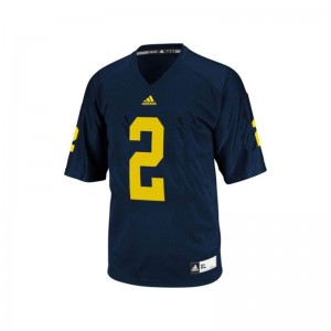 Michigan Men Limited Blue Charles Woodson Jerseys 3XL