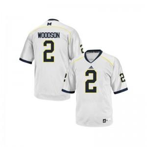 Charles Woodson Jerseys Michigan White Limited Kids Jerseys