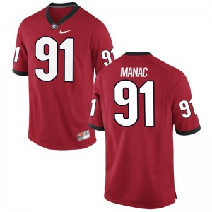 UGA Bulldogs Limited For Men Chauncey Manac Jersey 3XL - Red