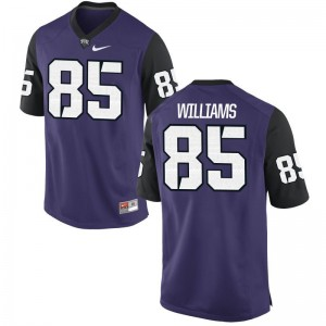 Texas Christian University Jersey of Christian Williams Limited Mens - Purple Black