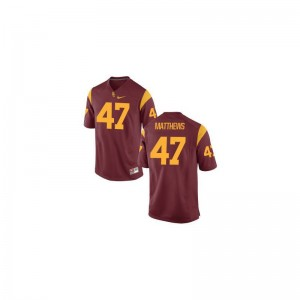 Cardinal Clay Matthews Jerseys Youth Small USC Youth(Kids) Limited