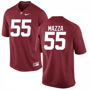 Limited For Kids Bama Jersey Youth Small Cole Mazza - Red