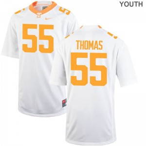 Coleman Thomas Tennessee Vols Jersey Small Limited Youth(Kids) - White