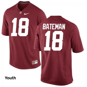 Cooper Bateman Bama Jersey Youth Large Red Limited Youth