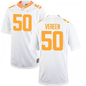Limited Corey Vereen Jersey Large Mens Tennessee Volunteers - White