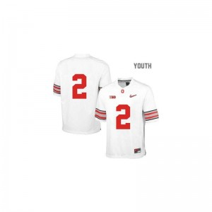 For Kids Limited Ohio State Jerseys Youth Medium of Cris Carter - White Diamond Quest Patch