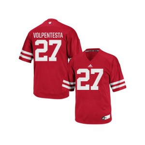 Wisconsin Badgers Cristian Volpentesta For Men Replica Jerseys X Large - Red