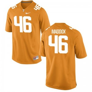 Tennessee Vols DaJour Maddox Jerseys Men XXXL Orange Limited For Men