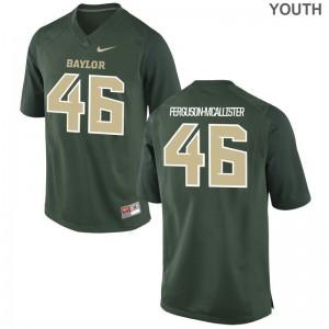 University of Miami Daniel Ferguson-McAllister Jerseys Youth Large Limited Green Youth