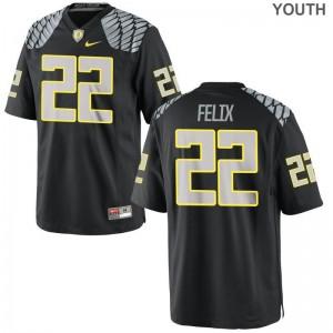 For Kids Limited Oregon Ducks Jerseys XL Darrian Felix - Black